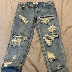 Never worn boyfriend jeans